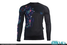 Today on BJJHQ Ground Game Battle Dragons Rashguard - $35